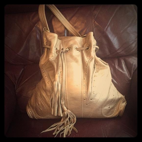 a6d3be5bd3 BULGA Handbags - Bulga Gold Hand Bag